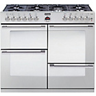 more details on Stoves Sterling R1000DFT Dual Fuel Range Cooker - S/Steel