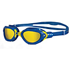 more details on Zoggs Predator Flex Swimming Goggle - Blue and Yellow - 3+ Y