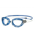 more details on Zoggs Predator Swimming Goggles - Clear, Blue and Silver.