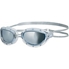 more details on Zoggs Predator Mirror Swimming Goggles - Silver - 3+ Years.