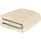 more details on ColourMatch Supersoft Throw - 170x130cm - Cream.