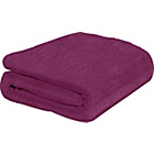 more details on ColourMatch Supersoft Throw - 170x130cm - Purple Fizz.