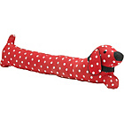 more details on Dog Shaped Draught Excluder - Red.