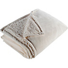 more details on Living Soft Fur Throw - 200x150cm - Cream.