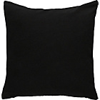 more details on ColourMatch Cotton Cushion - Jet Black.
