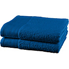 more details on ColourMatch Pair of Bath Towels - Marina Blue.