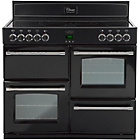 more details on Belling Classic 100E Electric Range Cooker - Black