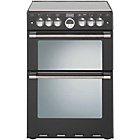 more details on Stoves Sterling 600G Black Gas Cooker - Instal/Del/Recyc.