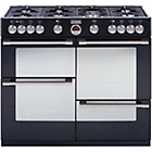 more details on Stoves Sterling R1000GT Gas Range Cooker - Black