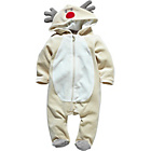 more details on Reindeer Unisex Brown All in One - 6-9 Months.