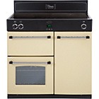 more details on Belling Classic 90Ei Induction Range Cooker - Cream