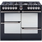 more details on Stoves Sterling R1100DFT Dual Fuel Range Cooker - Black.