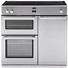 more details on Belling DB4 90Ei Prof Induction Range Cooker - S/Steel