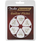 more details on Fender 351 Premier White Moto Medium Plectrum - 12 Pack.