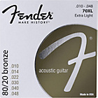 more details on Fender Acoustic Guitar 10-48 70XL Bronze Ball Strings.