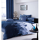 more details on City Scape Single Duvet Set - Blue.