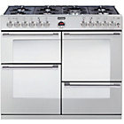 more details on Stoves Sterling R1100DFT Dual Fuel Range Cooker - S/Steel.