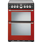 more details on Stoves Sterling 600G Red Gas Cooker - Instal/Del/Recyc.
