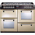 more details on Stoves Richmond 1100DFT Dual Fuel Range Cooker - Champagne
