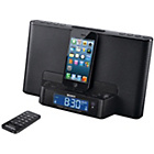 more details on Sony ICFDS15IPN Alarm Clock with Dock - Black.