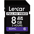 more details on Lexar 8GB SDHC High Speed HD Memory Card.