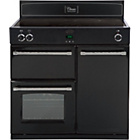 more details on Belling Classic 90Ei Induction Range Cooker - Del/Instal/Rec