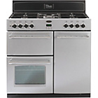 more details on Belling Classic 90DFT Dual Fuel Range Cooker - Silver