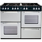 more details on New World NW100GT Gas Range Cooker - Silver