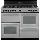 more details on Belling Classic 100DFT Dual Fuel Range Cooker - Silver