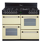more details on Belling Classic 100DFT Dual Fuel Range Cooker - Del/Inst/Rec