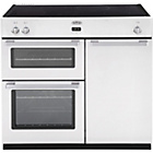 more details on Belling DB4 90Ei Induction Range Cooker - White