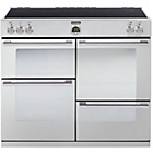 more details on Stoves Sterling 1100Ei Induction Range Cooker - S/Steel