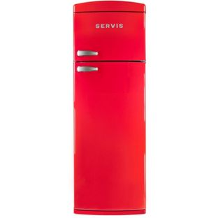Servis T60170 Retro Fridge Freezer  Chilli Red