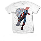 more details on Bravado Men's Avengers Captain America T‑shirt ‑ White.