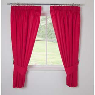 Bright Red Blackout Curtains Uk - Best Curtains 2017