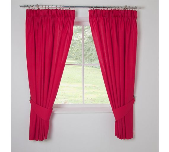 Buy ColourMatch Kids' Funky Fuchsia Blackout Curtains
