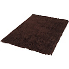 more details on ColourMatch Shaggy Rug 170x110cm - Chocolate.