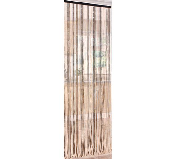 buy home beaded door curtains 91x190cm natural at. Black Bedroom Furniture Sets. Home Design Ideas