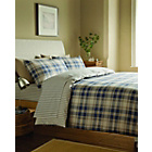 more details on Tartan Navy Duvet Cover Set - Double.