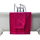 more details on ColourMatch Pair of Hand Towels - Funky Fuchsia.