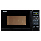 more details on Sharp R662KM Microwave and Grill - Black.