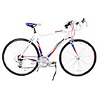 more details on Falcon Corsa 53cm Blue/Red/White Road Bike - Men's.