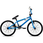 more details on Piranha P121 20W Blue and White BMX Bike - Unisex.