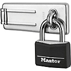more details on Master Lock 40mm Padlock and 89mm Hasp.