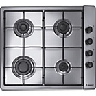 more details on Candy CLG64SPX Gas Hob - Stainless Steel.