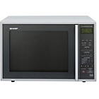 more details on Sharp R959SLMAA Combination Microwave - Silver.