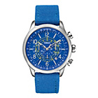 more details on Versus Versace Blue Soho Watch.