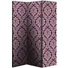 more details on Damask Room Divider - Plum.