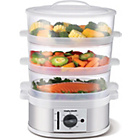 more details on Morphy Richards 470001 3 Tier Steamer - Stainless Steel.