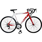 more details on Falcon Velocita 57cm White and Red Road Bike - Mens'.